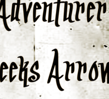Lonely Adventurer Sticker