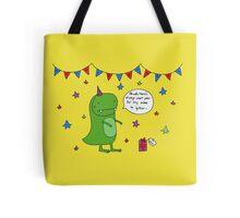 Dinosaur Dave's Birthday Tote Bag
