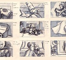 Storyboards for A Rose by Liesl Yvette Wilson