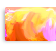 Yello Tulip Canvas Print