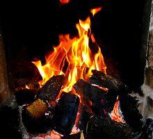 The Warmth Of An Irish Turf Fire by Fara