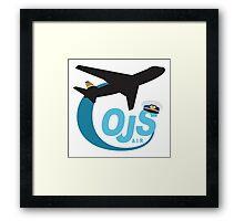 Our Jet Still - Cabin Pressure Framed Print
