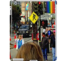 Red Light Castro District iPad Case/Skin