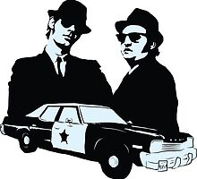 The Blues Brothers by Rich Anderson