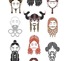 The Unwritten Lady Dwarves of Middle Earth by geeksweetie