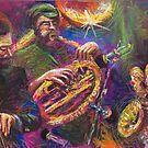 Jazz Trio Pastel by Yuriy Shevchuk