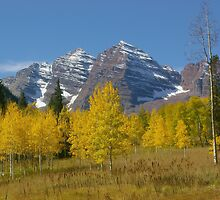 Autunm at Maroon Bells by Daniel Doyle