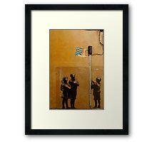 Banksy - Tesco  Framed Print