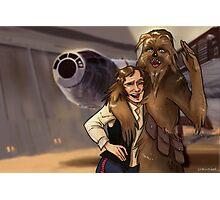 Star Wars selfie series: #4 Photographic Print