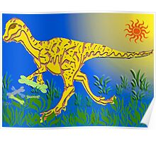 Tyrannosaurus Rex By Day Poster