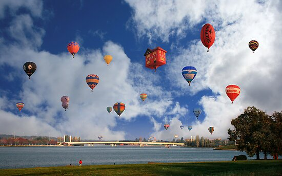 Baby Gifts Canberra Australia : Quot balloon fiesta canberra australia by anthony caffery