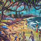 Coolum Beach Sunshine Coast by robert (bob) gammage