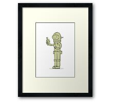 Zulu The Last Interdimensional Time and Space Explorer Framed Print