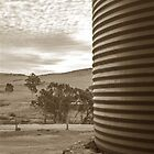 Watertank and Sky by ransam