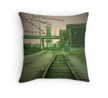 Synopsis (A Fairy Tale) Part 3 Throw Pillow