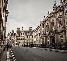 The Streets of Oxford by Nicole Petegorsky