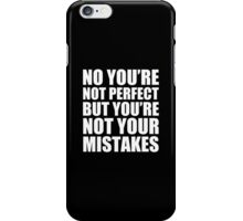 No You're Not Perfect - Kanye West iPhone Case/Skin