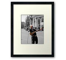 LEFTY  Framed Print