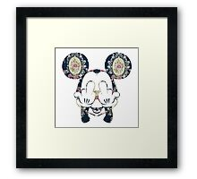 trippy micky Framed Print
