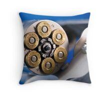 357 Magnum Throw Pillow