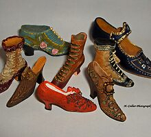 Antique shoes by Nikki Collier