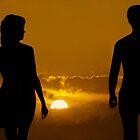 A Walk Along the Beach by Ken Fortie