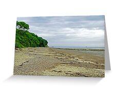 St Helens Beach, near Priory Bay Greeting Card