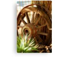 """""""Old Wagon Wheel""""  (South Africa) Canvas Print"""