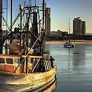 Southport Trawler by Murray Swift