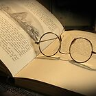 Once upon a time... (Old Book & Glasses) Free State, South Africa by Qnita