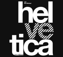 Hel ve tica .... T-Shirt