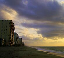 Sunrise on the Highrise by suzannem73