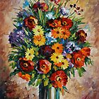 SPRING PASSION limited edition giclee of L.AFREMOV painting  by LeonidAfremov