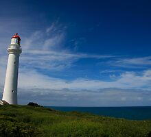 Split Point Lighthouse - Aireys Inlet - 1 by Richard Heath
