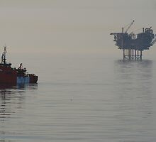 Esvagt Supporter and the Lomond Platform by Alex Young
