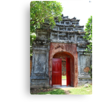 The Tomb Gate - Hue, Vietnam. Canvas Print