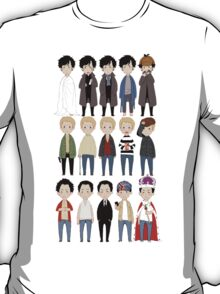 johns and sherlocks and moriarties T-Shirt
