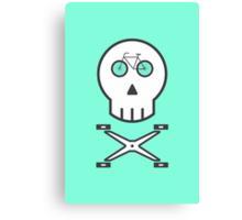 Rider Skull Canvas Print