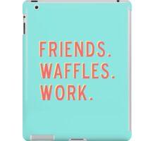 Friends Waffles Work iPad Case/Skin