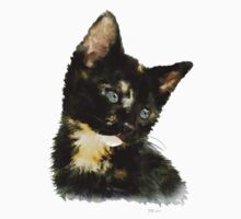 Susie: Black and tan Kitten Kids Clothes
