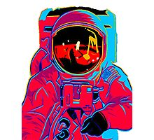 psychedelic astronaught  Photographic Print