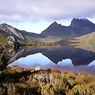 beautifully reflected Cradle Mt and colours everywhere!   (Tasmania) by gaylene