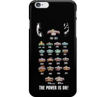 Power Rangers 20th Anniversary iPhone Case/Skin