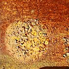 orange desert sun by Lynne Prestebak