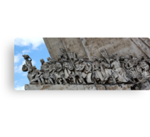 Monument To The Discoveries, Lisbon Canvas Print
