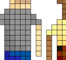 IT Crowd - Pixel Art Sticker
