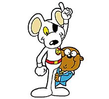 DangerMouse and Penfold Photographic Print
