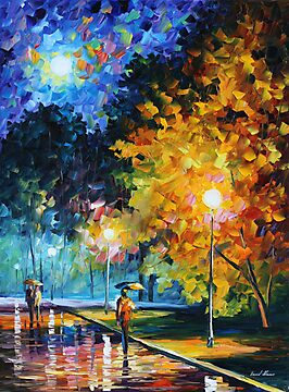 BLUE MOON limited edition giclee of L.AFREMOV painting by LeonidAfremov