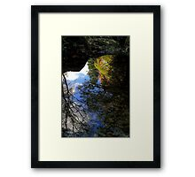 Autumn Upon Reflection Framed Print