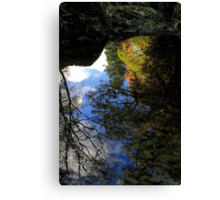 Autumn Upon Reflection Canvas Print